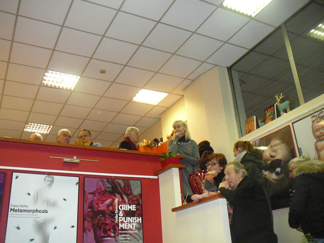 PLAKATY PIOTRA KUNCE  Galeria CRACOVIA  23-02-18