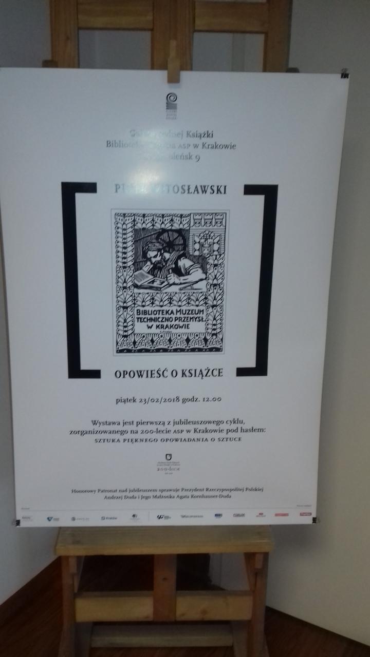 OPOWIESC O KSIAZCE  Galeria Jednej Ksiązki ASP 25-02-18