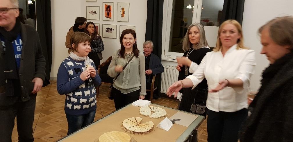 Agnieszk Berezowska, Grafika Wernisaż w Galeri Olympia 25-03-18