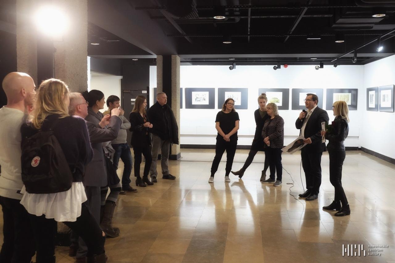 Finisaż wystawy grafiki irlandzkiej w NCK 28-03-18