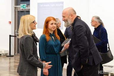 Wernisaż wystawy malarstwa Wiolety Rzążewskiej 28-03-18