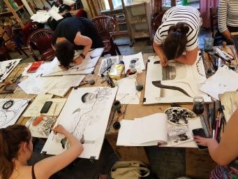 Studio Lato 2018 warsztaty artystyczne w SSA 18-07-18