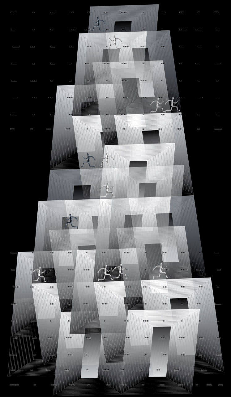 wieża piramida popkopia