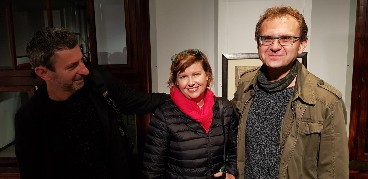 """""""Wajda, Wróblewski. Ich Akademia"""" zdjęcia z wernisażu wystawa czynna od 4.10 do 4.11.2018 06-10-18"""