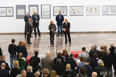 Franciszek Bunsch - Przestrzeń dla Sztuki - wernisaż w NCK 30-11-18