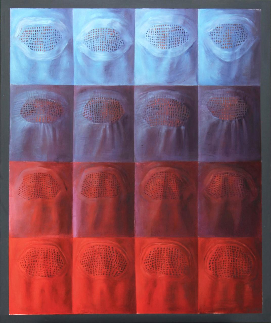 """""""Jej oblicze, jej sekret…"""" – wystawa malarstwa Małgorzaty Jagiełło 16-04-19"""