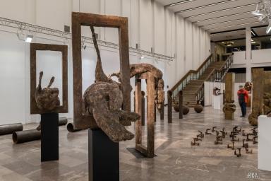 """""""Rzeźba – retrospektywa"""" – wystawa Krystyny Orzech 16-04-19"""