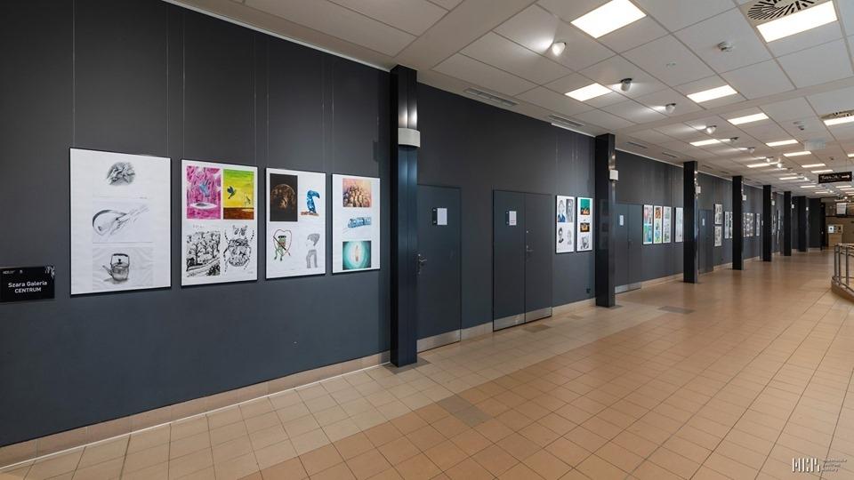 Wystawa prac uczestników zajęć pracowni plastycznych NCK 25-07-19