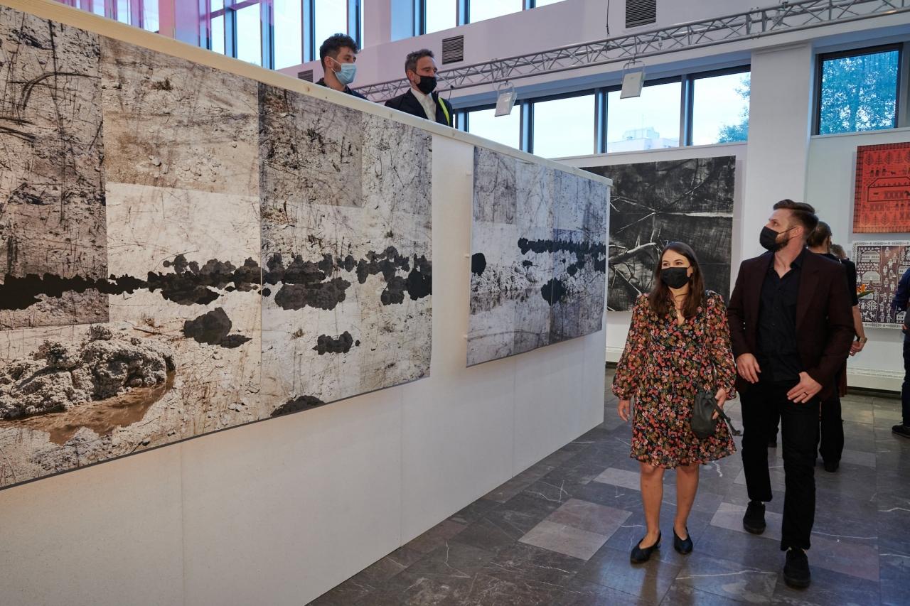 Międzynarodowe Triennale Grafiki w Krakowie – Sprzeczne przyszłości WERNISAŻ 05-07-21