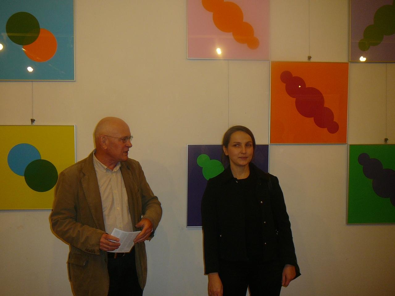 """Brak tytułu 20-10-17 - Wernisaż wystawy litografii EWELINY MALYSY """"EPISTEMIA"""""""